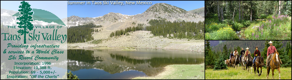 The Mayor's Blog – From The Village of Taos Ski Valley