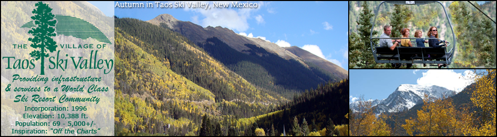 The Village of Taos Ski Valley – Providing infrastructure & services to a World Class Ski Resort Community